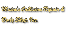 Maine's Collision Repair logo