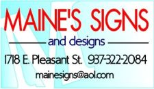 Maine's Signs and Designs - established 2001
